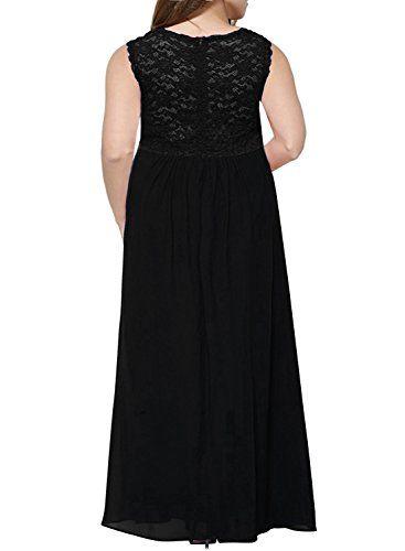 fd97219ad1c Nemidor Womens Deep- V Neck Sleeveless Vintage Plus Size Bridesmaid Formal  Maxi Dress