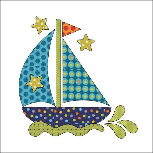 Looking for your next project? You're going to love Applique Add On's - Sail Away by designer urbanelementz. - via @Craftsy