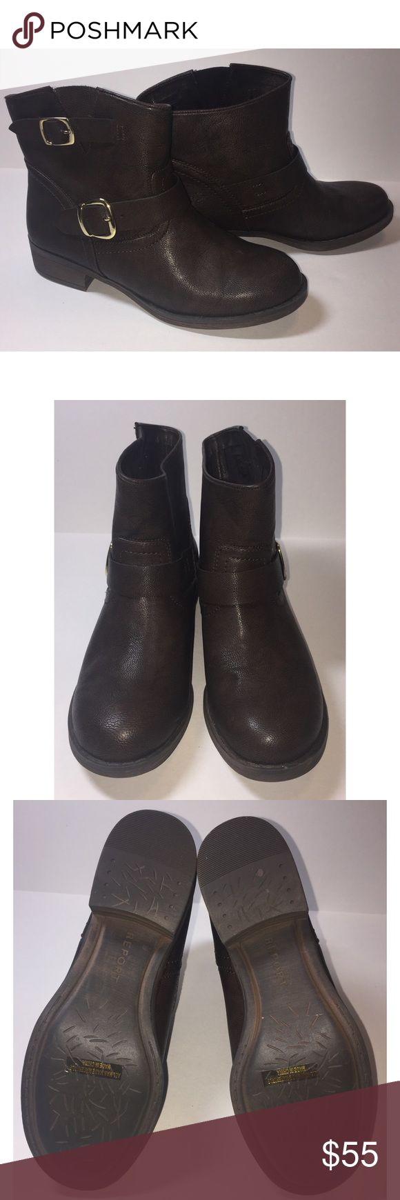Report Brand new condition Report booties, only worn once! No damage to the sole of the shoe or leather Report Shoes