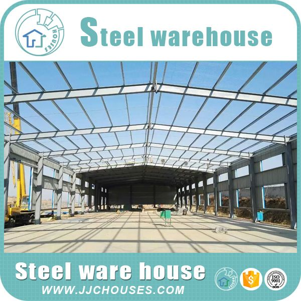 www.jjchouses.com steel buildings for sale : main steel framework is linked up by H-section, Z-section. the walls using a variety of panels.