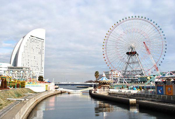 Иокогама - самый красивый порт Японии