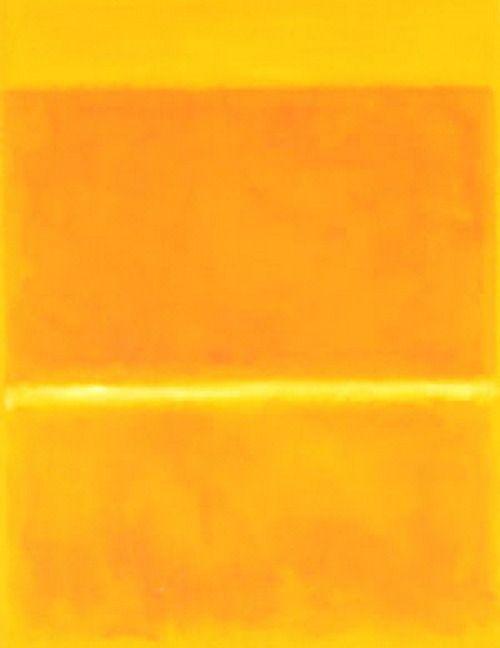 Mark Rothko,Saffron  1957