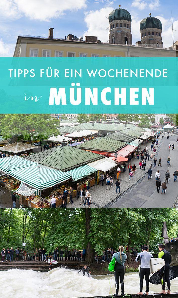 Unsere München-Tipps. Wir zeigen dir, was du an einem Wochenende in München alles machen kannst.