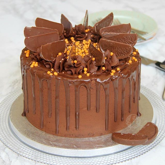 Terrys Chocolate Orange Drip Cake! The recipe you have ALLhellip