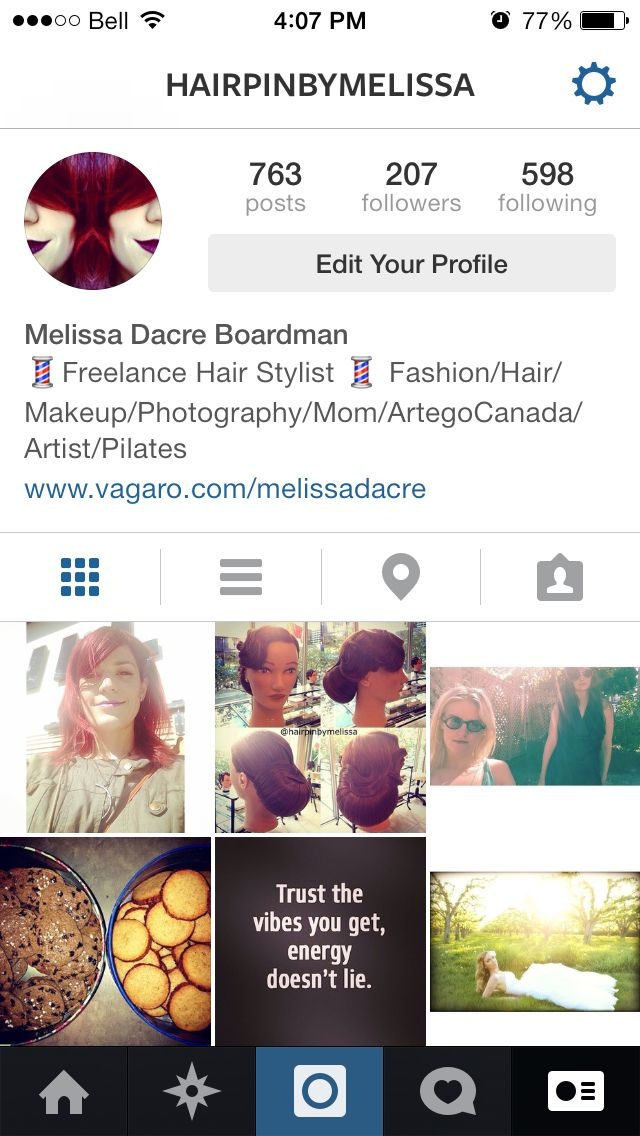 Follow me on Instagram and join my IG family. #hairpinbymelissa