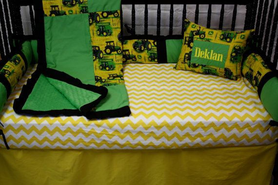 John Deere Crib Sets For Boys : Best images about johnny s tractor bedroom ideas on