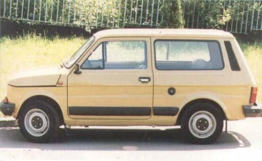 Polski Fiat 126p station wagon :)