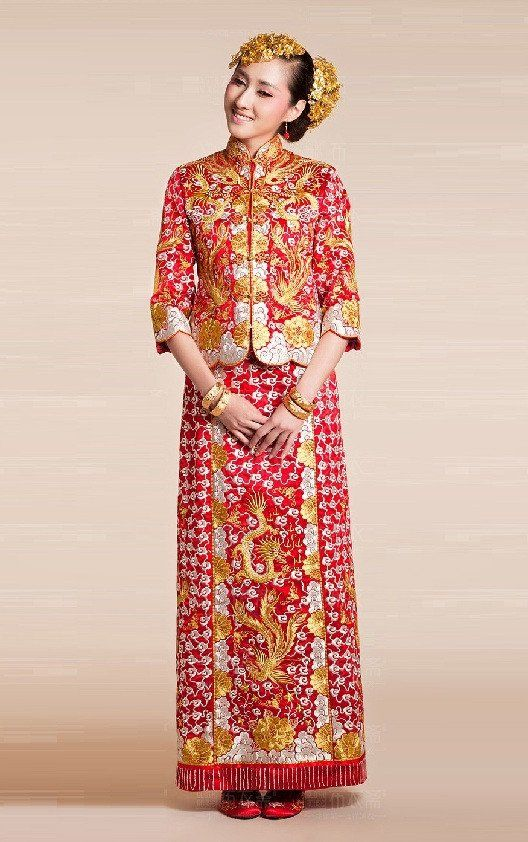 Buy chinese wedding dress