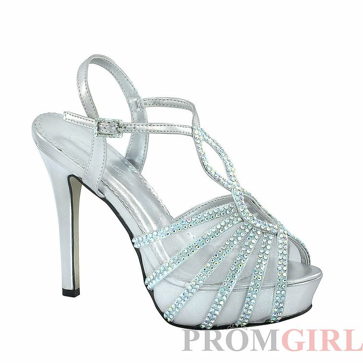 silver heels for prom | Prom Dresses, Plus Size Prom Dresses, Prom Shoes -PromGirl : Touch Ups ...