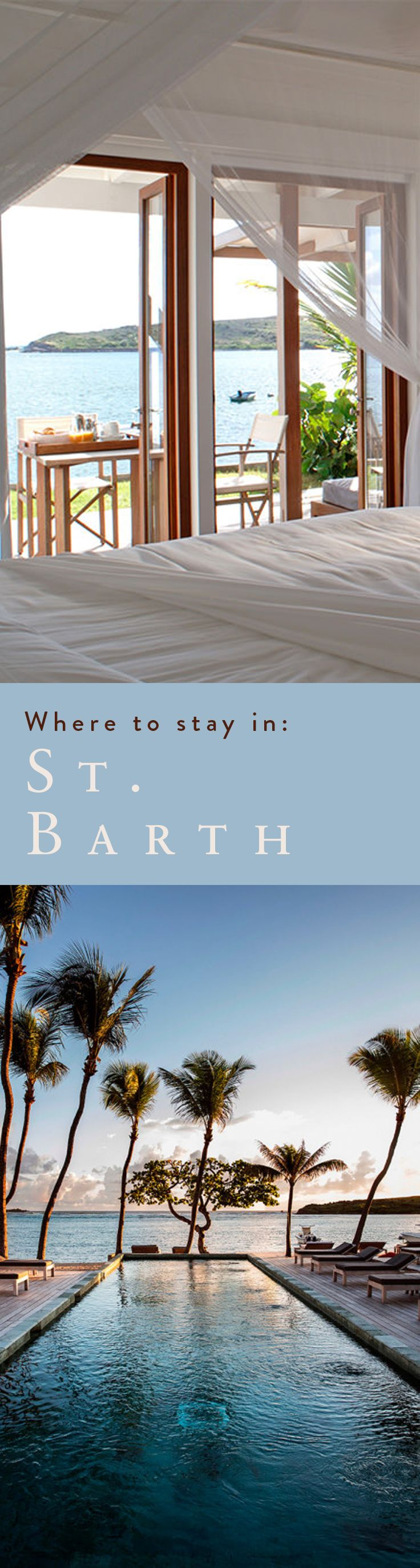 Practice the art of the getaway at these heavenly St. Barth stays. From villa rentals to 5-star hotels, these are our top picks.
