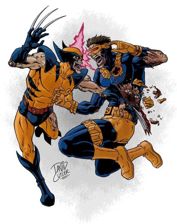 Marvel Zombies X-Men by davidjcutler.deviantart.com on ...