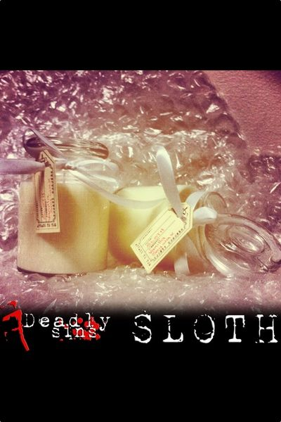 Seven Deadly Sins Candles, These candles are very popular as gifts.