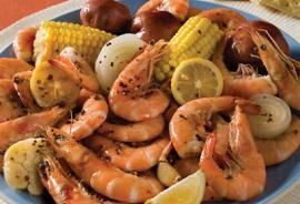 This is a traditional Louisiana shrimp boil recipe - don't be afraid to double or triple this recipe to make more servings.