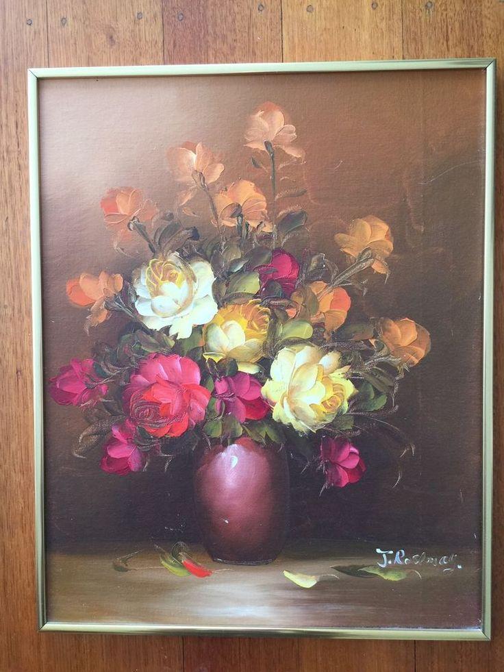 Vintage Floral Painting