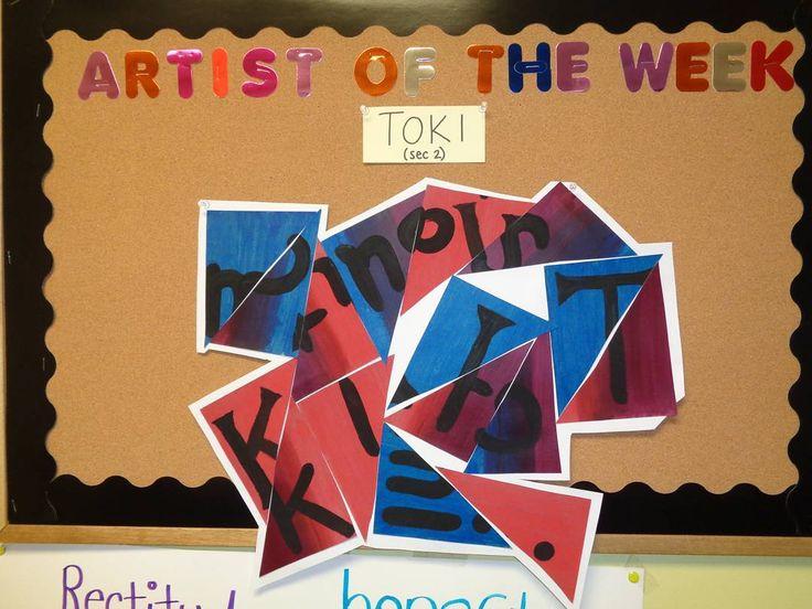 Our artist of the week ! #NSA #NSAart #Art