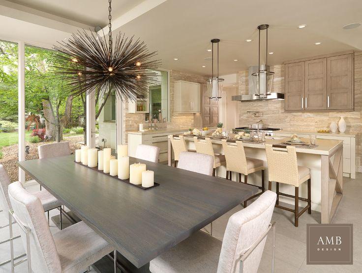 Organic Modern kitchen design by Anne Marie Barton