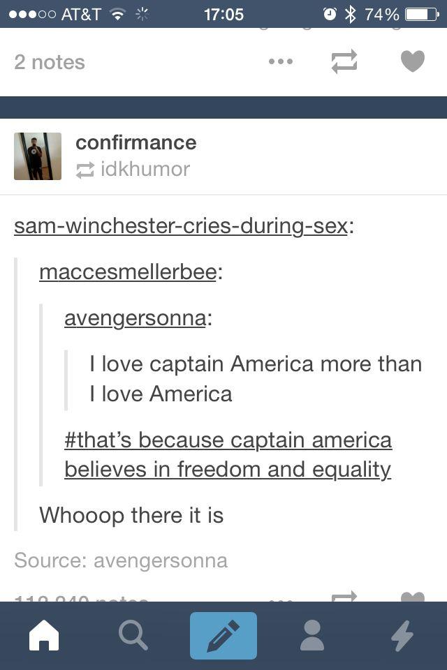 I love Captain America more than America