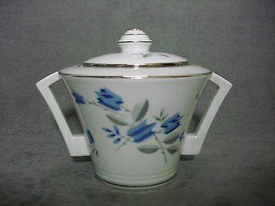 sucrier Art déco moderniste porcelaine Limoges TLB sugar box french vintage