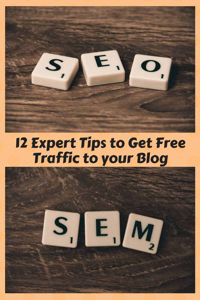 tips to get free traffic to your blog