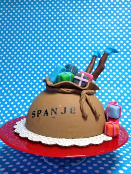 'Sinterklaas' cake