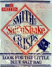 Smiths Salt 'n' Shake Crisps.  Another snack that involved some work - kids these days are so lazy expecting their snacks to be pre-salted ;)