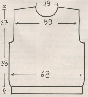 Maglione a girocollo con rombi e triangoli