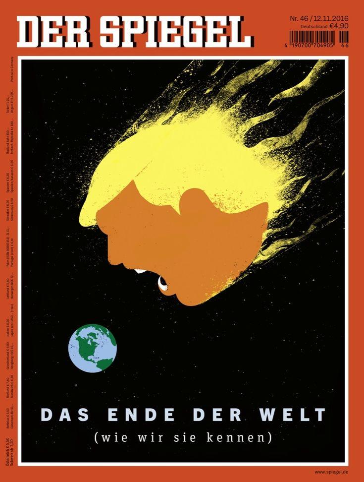 Meet the Artist behind Der Spiegel's Viral Trump Covers Edel Rodriguez for DER SPIEGEL.