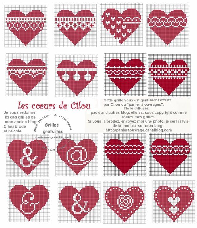 christmas hearts 2/6
