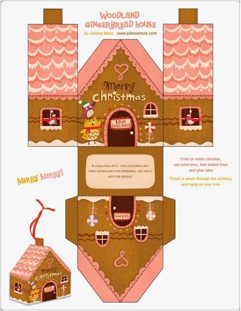 883 best gingerbread images on pinterest gingerbread number risultati immagini per gingerbread house template pronofoot35fo Choice Image