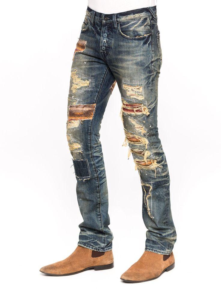 726 besten jeans denim men bilder auf pinterest herrenmode trousers und f r m nner. Black Bedroom Furniture Sets. Home Design Ideas