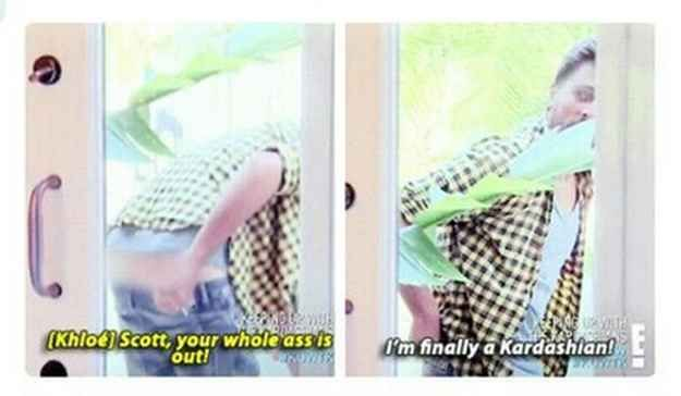 I will watch Keeping Up With The Kardashians just for Scott.