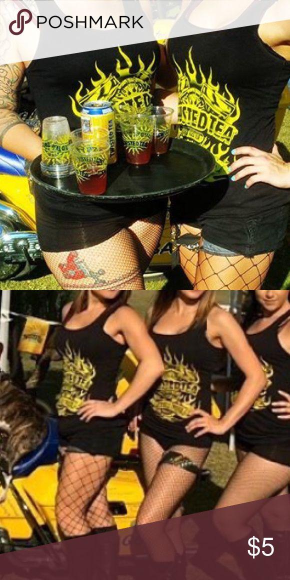 Twisted tea tank Twisted tea biker branded shirt Tops Tank Tops