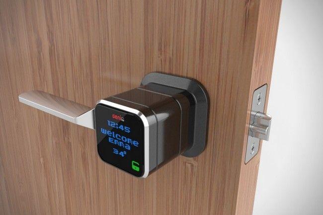 lock 1 650x433 The Genie Is A Smartphone Activated Door Lock
