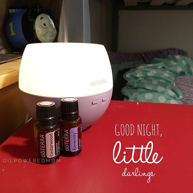 It was one of those early bedtime nights  Put this blend in the diffuser to help them get some much needed rest.  5-6 drops Serenity 3 drops Cedarwood  Works for adults and children alike, and smells amazing!! What's your favorite blend for sleep? Have something tried and true? Tell us!