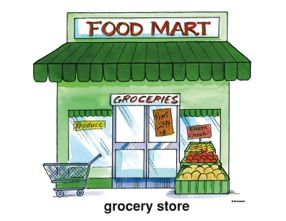 11 Awesome grocery store clipart | Felix bedroom | Clip ...