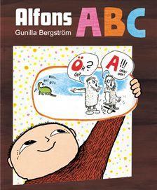 Alfons i bokhyllan! Ni hittar den och flera böcker på  www.barabokstaver.se