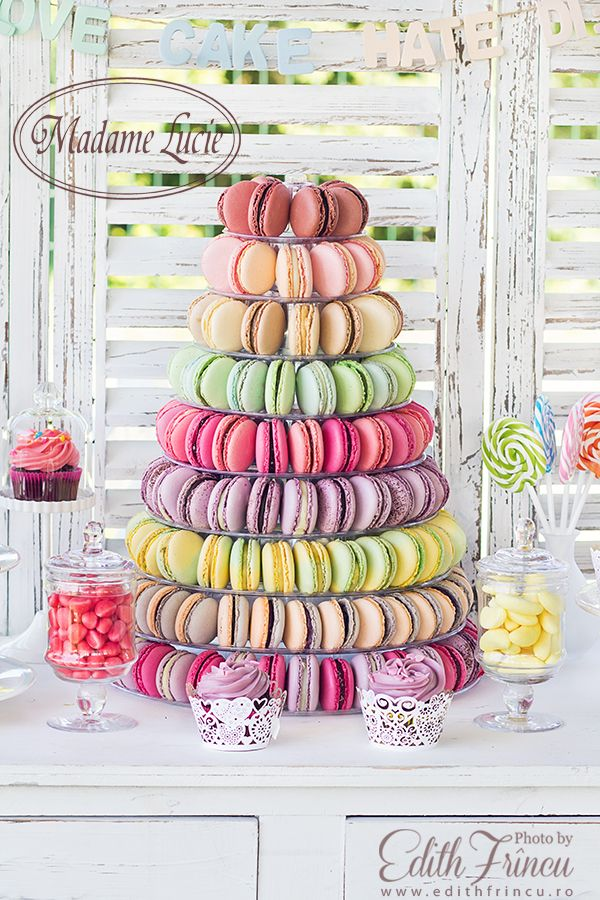 Macarons for an exquizite french candybar