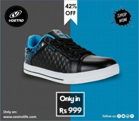 Easy to wear this shoes consists fashion and comfort with an extraordinary unique range of design and colors.  Shop here:  http://vostrolife.com/vostro-1217-black-blue-men-casual-shoes-vss0165  #shoes  #partyshoes #sneakers #shoelover #vostroshoes  Welcome! | LinkedInDAP