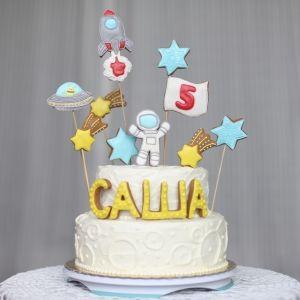детский торт без мастики космос на заказ Москва Химки katishbakery