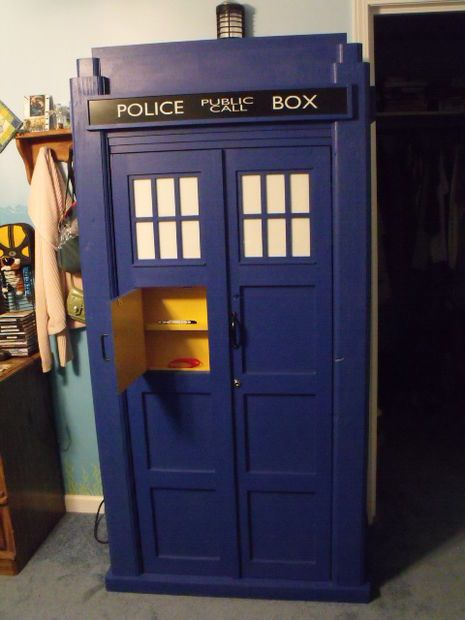 How To Build A Tardis Liquor Cabinet Woodworking