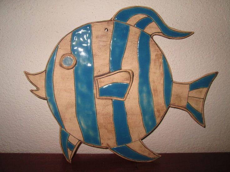 Keramická ryba na zeď