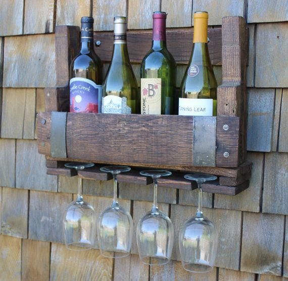 Wood Whisky Bottle Holder Ideas: Best 25+ Pallet Wine Racks Ideas On Pinterest