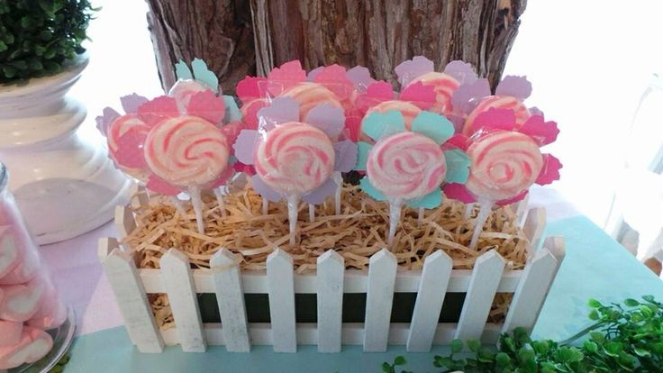 Fairy Party - Lollipop garden