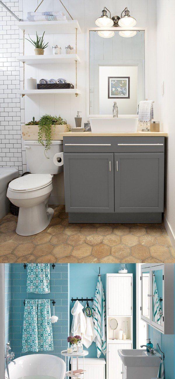 Logra que tu baño parezca de lujo / http://www.tucasabella.com/