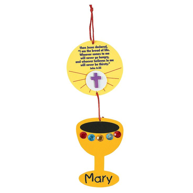 The 78 best images about communion on pinterest first for First communion craft ideas