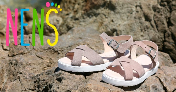 NENS SS17 CHILDRENS SHOES NENS girls suede sandals  #nens #childrensfashion #calzadoinfantil #childrensshoes