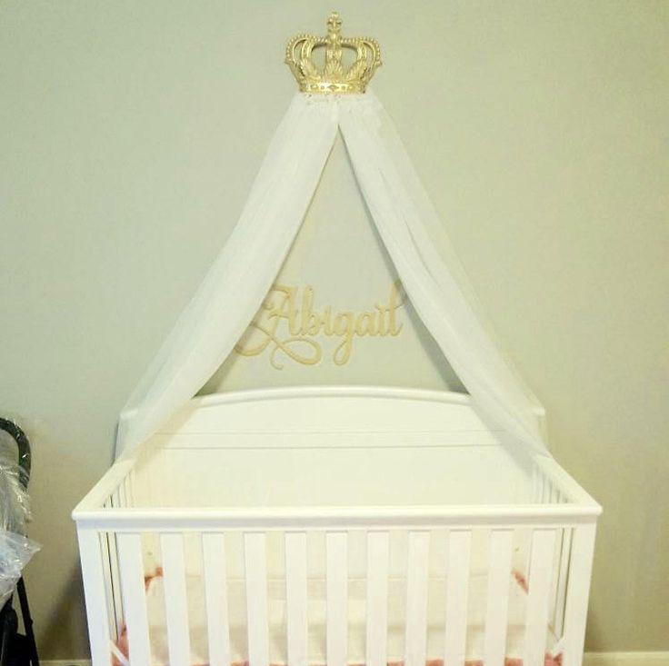 27 best Princess Crown Canopies images on Pinterest | Princess ...