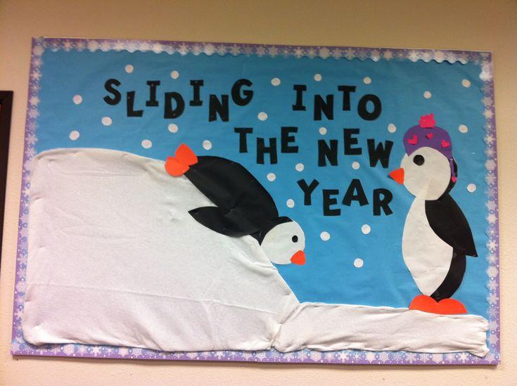 New year/January bulletin board