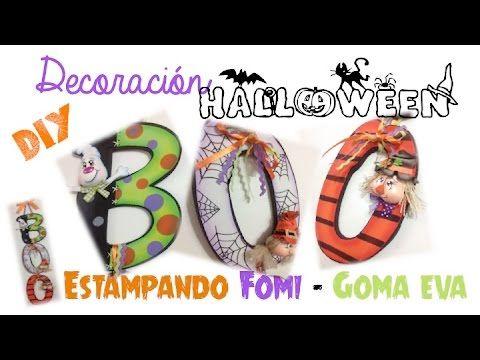 KLOF - BOO !! Letras para Halloween  - Estampar fomi