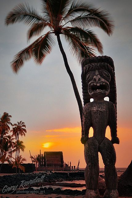 Puʻuhonua O Hōnaunau National Historical Park, Big Island of Hawaiʻi — Also known as Place of refuge, this is one of our favorite places of Old Hawaiʻi. Serene, peaceful, beautiful. A taste of history & ancient culture with the beautiful Pacific as a backdrop.